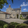 Stock Photo: Period Property - Yorkshire - England