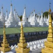 Stock Photo: SandMuni Temple - Mandalay - Myanmar (Burma).
