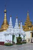 Shwedagon Pagoda Complex - Yangon - Myanmar — Stockfoto