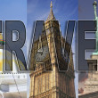 worldwide travel — Stock Photo
