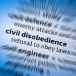 Civil Disobedience — Stock Photo