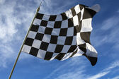 Chequered Flag - Winner — Stock Photo
