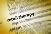 Retail Therapy — Stock Photo