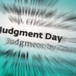 judgment day — Stock Photo