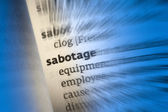 Sabotage — Stock Photo
