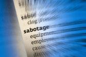 Sabotage — Stock Photo