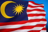 Flag of Malaysia — Stock Photo