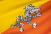 Flag of Bhutan — Stock Photo