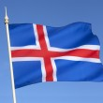 アイスランドの旗 — ストック写真