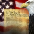 United States of Americ- Patriotism — Stock Photo #36529349