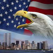 New York - Remember 9-11 — Stock Photo