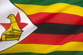 Flag of the Republic of Zimbabwe — Foto de Stock