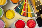 Painting and Decorating - Interior Design — Stock Photo