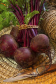 Freshly Picked Beetroot — Stock Photo
