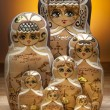 Matryoshka Dolls - Russian Nesting Dolls — Stock Photo