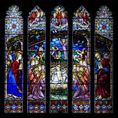 Westminster Window - Chester Cathedral - UK — Fotografia Stock