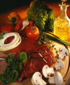 Cooking Prime Beefsteak — Foto Stock
