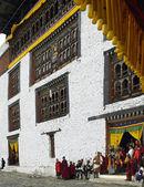 Paro Tsechu - kingdom of Bhutan — Stock Photo