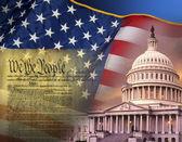Patriotic Symbols - United States of America — Stock Photo