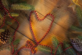 Festive Heart Shape — Stock Photo