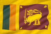 Flag of Sri Lanka — Foto de Stock