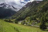 Swiss Alps - Switzerland — Stock Photo