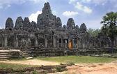 Bayon templo - angkor wat - camboja — Foto Stock