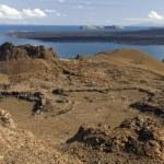 Постер, плакат: Volcanic landscape Bartolome Galapagos Islands