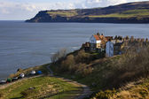 Robin Hoods Bay - Yorkshire Coast - British Isles — Stock Photo
