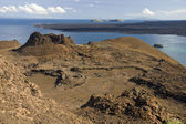 Volcanic landscape - Bartolome - Galapagos Islands — Stock Photo