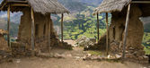 Qantus Raqay - Sacred Valley of the Incas - Peru — Stock Photo