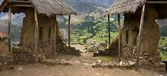 Qantus raqay - i̇nka kutsal vadi - peru — Stok fotoğraf