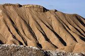 Geología - la erosión del agua - el desierto de atacama - chile — Foto de Stock