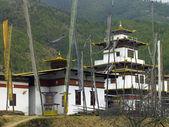 Buddhist Dzong - Thimphu - Bhutan — Stock Photo