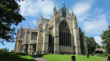 Ripon Cathedral - England - HD — Stock Video