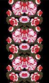 Mirror floral pattern — Stock vektor