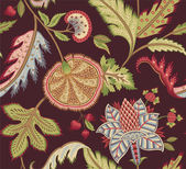 Vintage Indiase bloemmotief — Stockvector