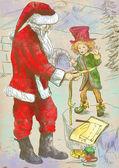 Санта Клаус — Стоковое фото