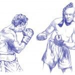 Boxers — Stock Photo #18306157