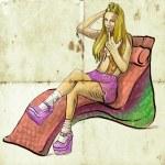 Luxury girl — Stock Photo #18530267