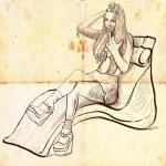 Luxury girl — Stock Photo #18530271