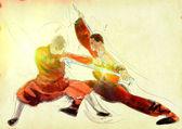 Kung fu — Stock Photo