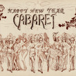 Cancan cabaret — Stock Photo