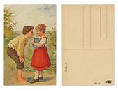 Postcard — Stockfoto
