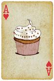 Cake - muffin — Stock Photo