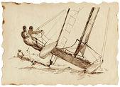 Yachting — Stock Photo