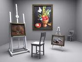 Atelier, studio — Stock Photo