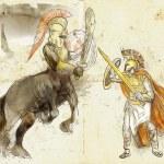 Theseus and Centaur — Stock Photo #23584961