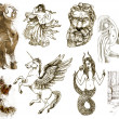 Greek Myths and Legends - Stock Photo