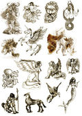 希腊神话和传说 — 图库照片